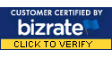 BizRate Customer Certified (GOLD) Site